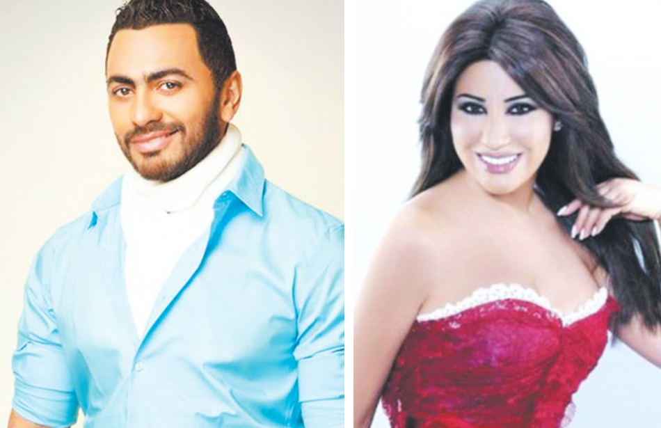 Najwa Karam et Tamer Hosny en concert à Mawazine