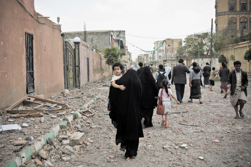 Plus  de 10.000 attaques contre les femmes au Yémen en 2016
