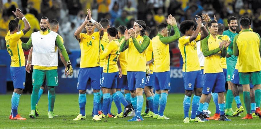 Le Brésil, première équipe qualifiée au Mondial russe