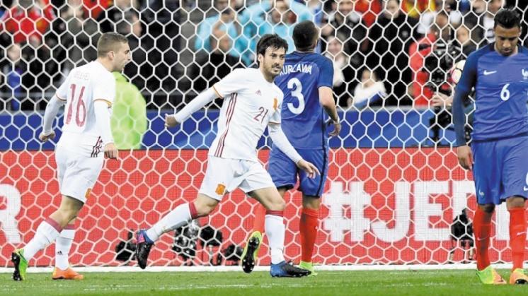 Les Bleus battus par l'Espagne... et la vidéo