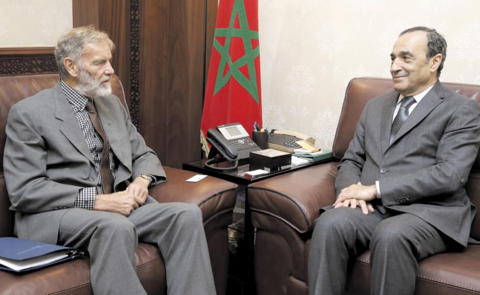 Habib El Malki  et William Fisher.