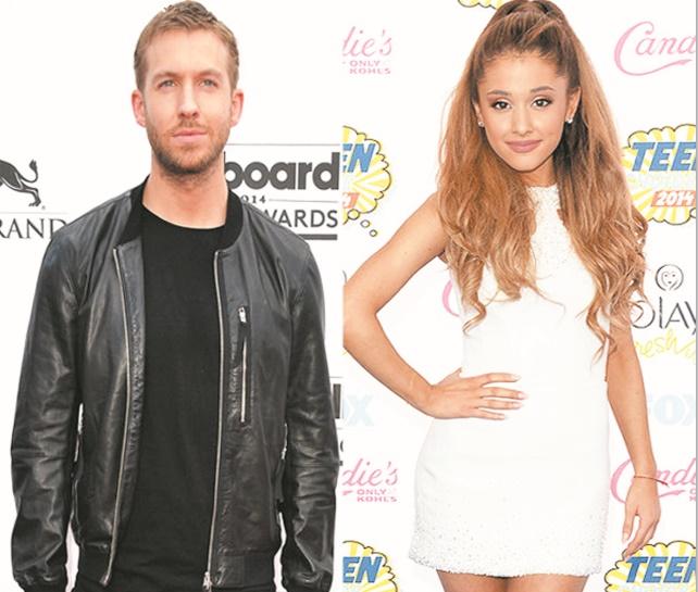 Calvin Harris en duo avec Ariana Grande