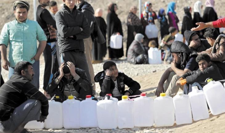 Le chef de l'ONU déplore le manque d'aide pour la population de Mossoul