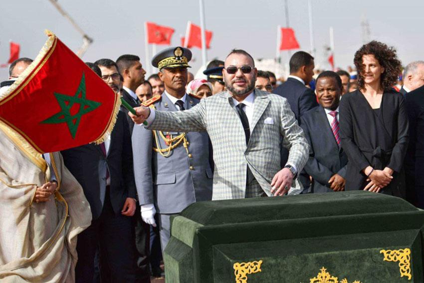 S.M le Roi lance les travaux de réalisation de la Centrale Noor Ouarzazate IV