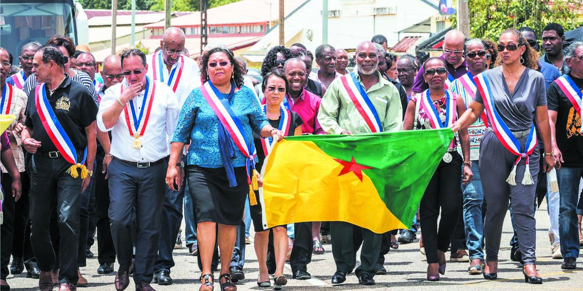 La Guyane réclame  un statut particulier