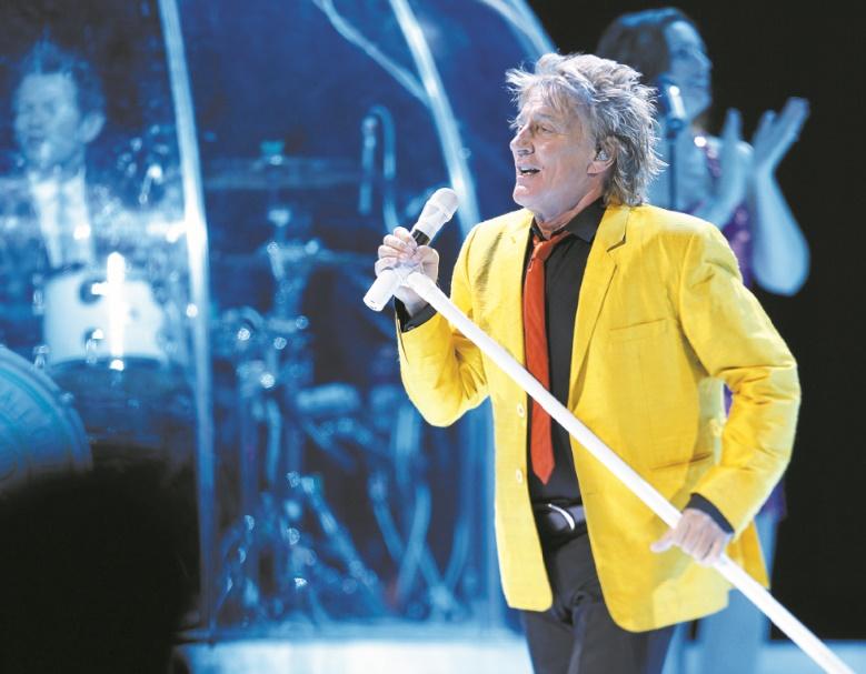 Rod Stewart, véritable icône du Rock, en clôture du Festival Mawazine