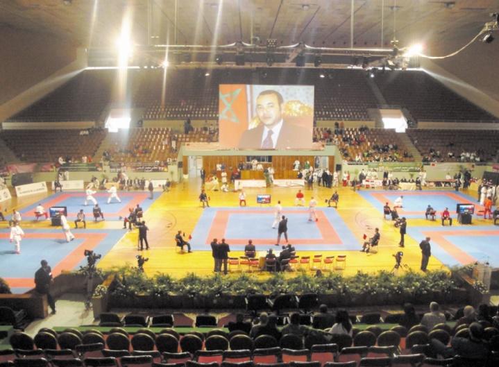 Plateau relevé pour la 13ème édition de la Coupe internationale Mohammed VI de karaté
