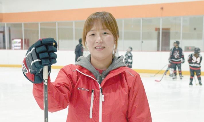 Quand la star sud-coréenne du hockey a le coeur qui penche au Nord