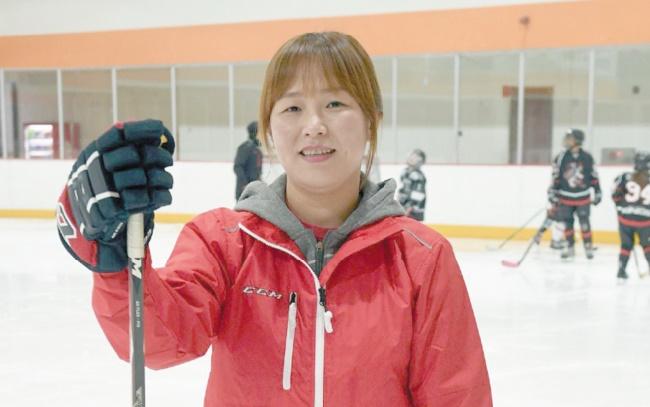 Quand la star sud-coréenne de hockey a le coeur qui penche au Nord