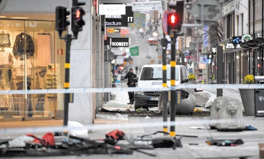 Le suspect de l'attentat de Stockholm passe aux aveux