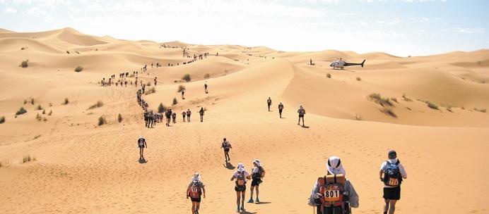 El Morabity et Barnes s'adjugent l'étape inaugurale du Marathon des sables