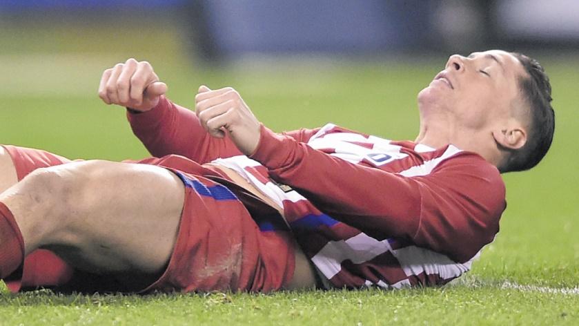 Fernando Torres a la tête dure