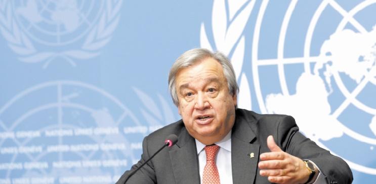 Antonio Guterres exige le retrait immédiat du Polisario de Guerguarate