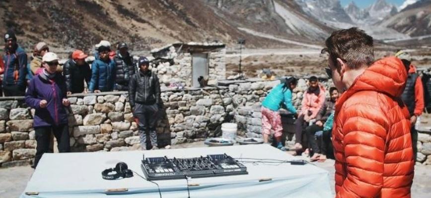 Insolite : Concert électro à 5.400 mètres d'altitude