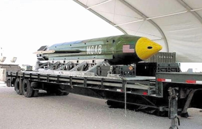 Les Etats-Unis larguent une méga-bombe en Afghanistan