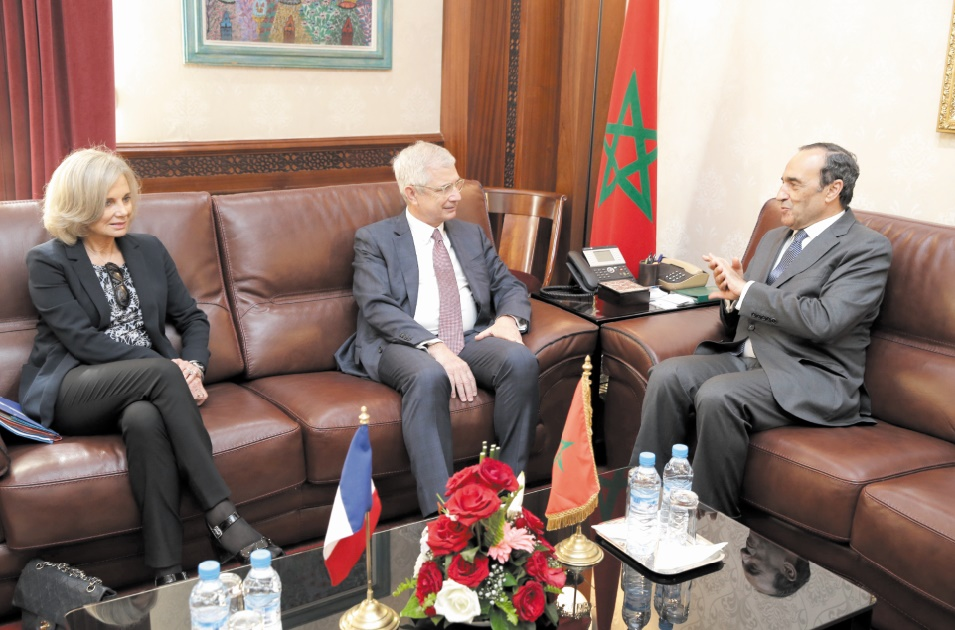 Claude Bartolone reçu à Rabat par Habib El Malki et Saâd Eddine El Othmani