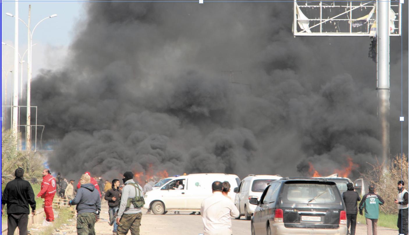 Au moins 112 morts dans l'attentat contre des cars près d'Alep