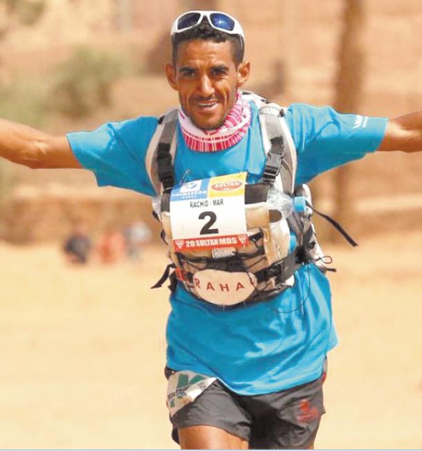 Rachid El Morabity assoit sa domination avec un 5ème titre au Marathon des sables