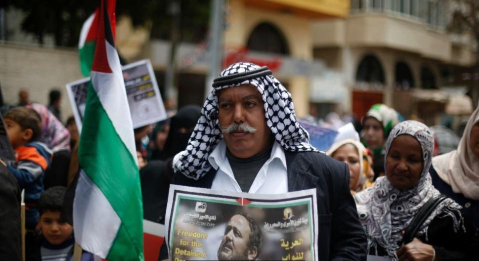 Plus de 1.000 Palestiniens détenus par Israël en grève de la faim