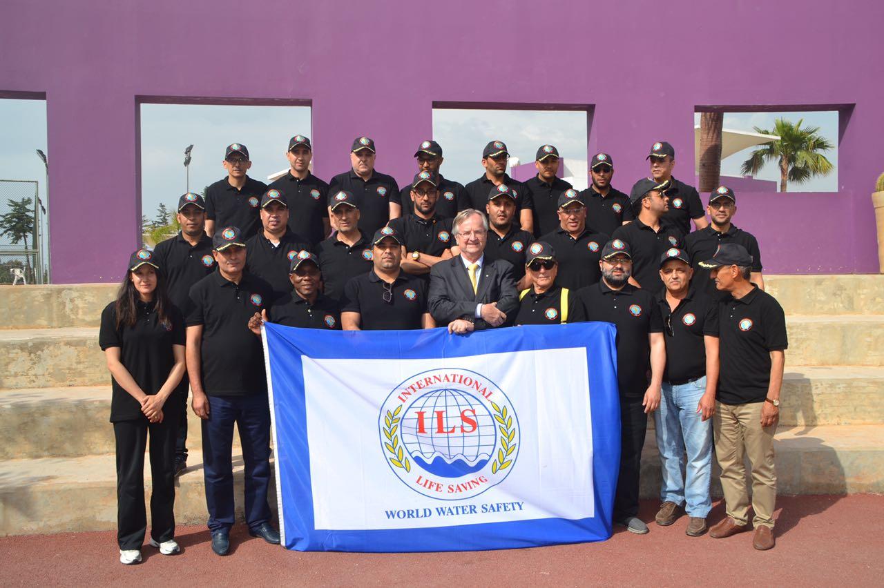 Inauguration à Rabat du siège de la Confédération africaine de sauvetage aquatique
