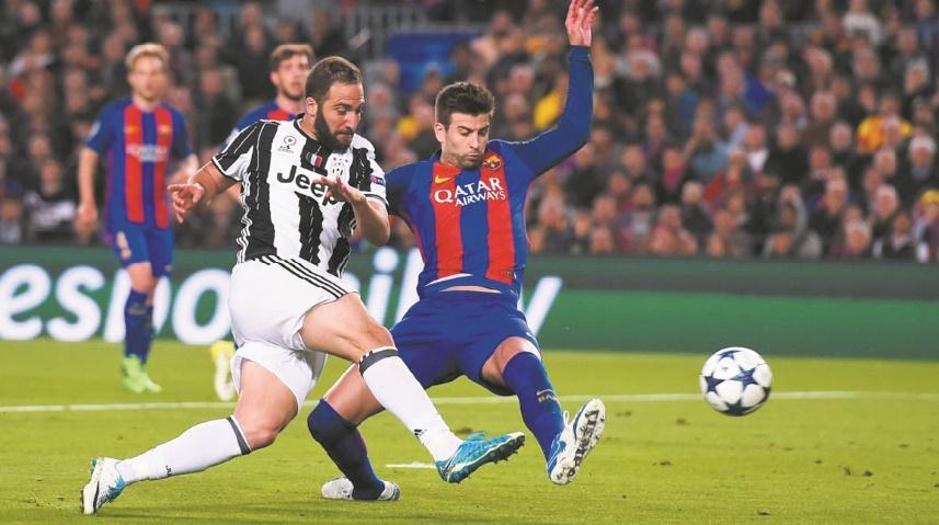 La Juventus en demi-finales faute de miracle du Barça