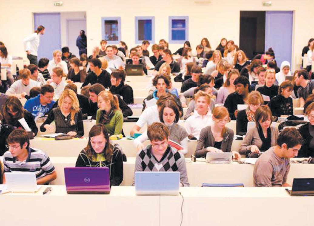 Ce que font les étudiants sur leurs  ordinateurs pendant les cours