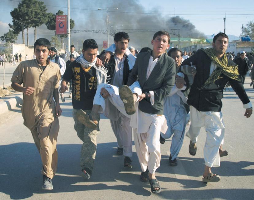 L'Afghanistan  demande des sanctions après le carnage de Mazar-i-Sharif