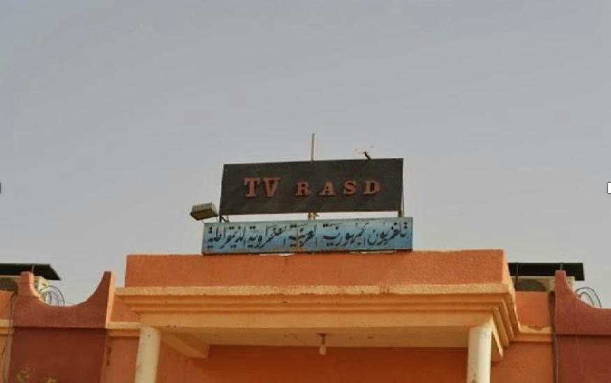 La télévision séparatiste  vandalisée