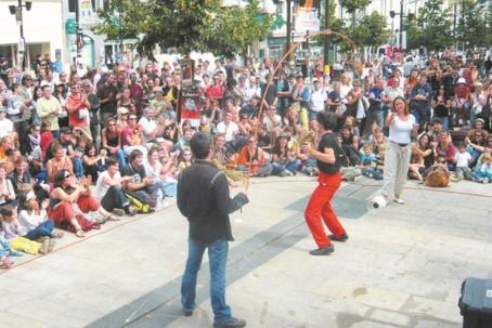 Mawazine célèbre les spectacles de rue