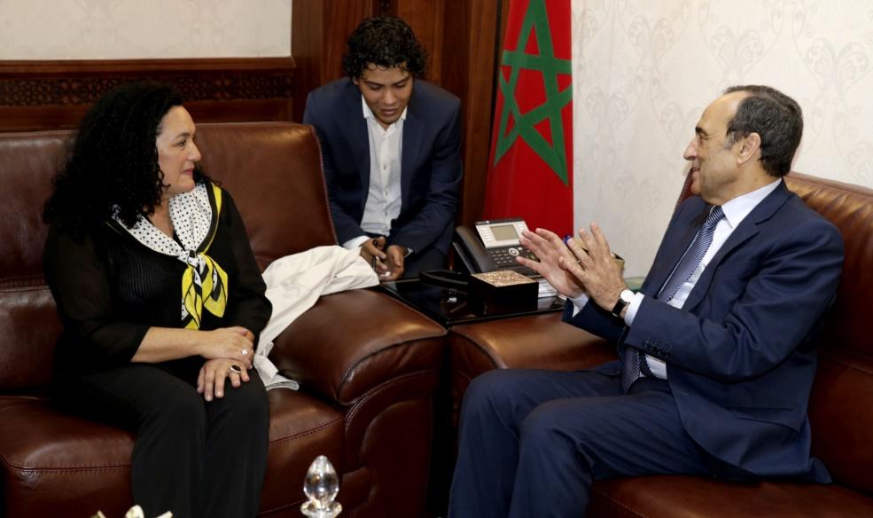 Habib El Malki souligne le développement de la représentation parlementaire féminine