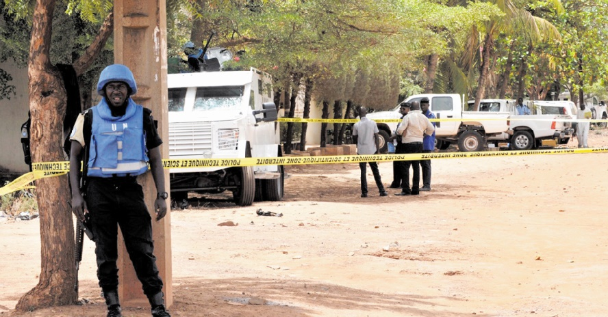 Attaque jihadiste contre un camp de l'ONU au Mali