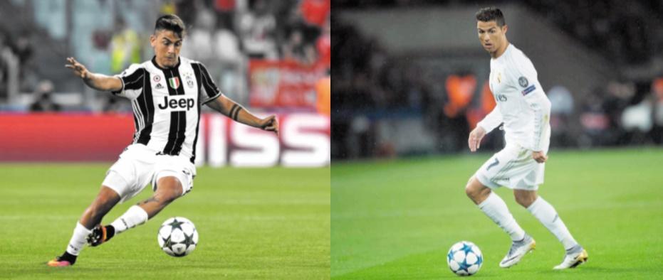 Juventus et Real, un ton au-dessus