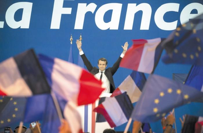 L'UE croise les doigts pour l'europhile Macron