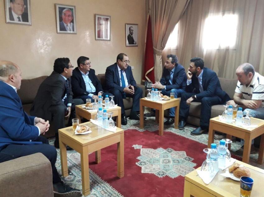Driss Lachguar s'entretient avec une délégation de l'Andalousie