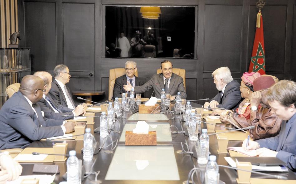 Habib El Malki reçoit des présidents de Conseils économiques et sociaux