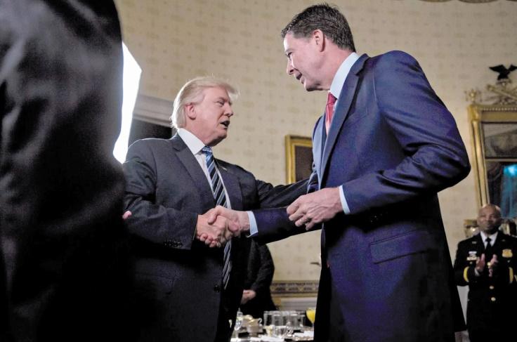 Trump s'enquiert de l'éventuelle enquête menée à son encontre par le FBI