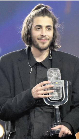 Salvador Sobral, crooner  portugais au coeur trop grand
