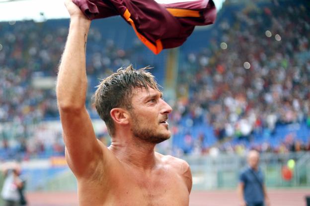 Le dernier match de Totti  à la Roma à guichets fermés