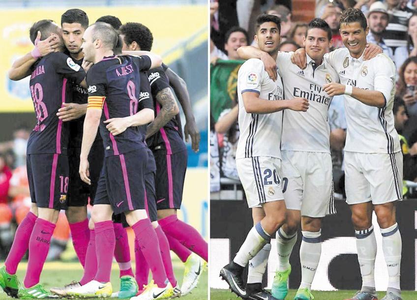 Liga :  Barça et Real étirent le plaisir jusqu'au bout