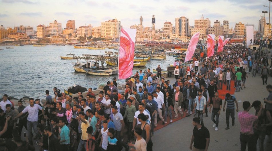 Sur le tapis rouge de Gaza, la star, c'est le public