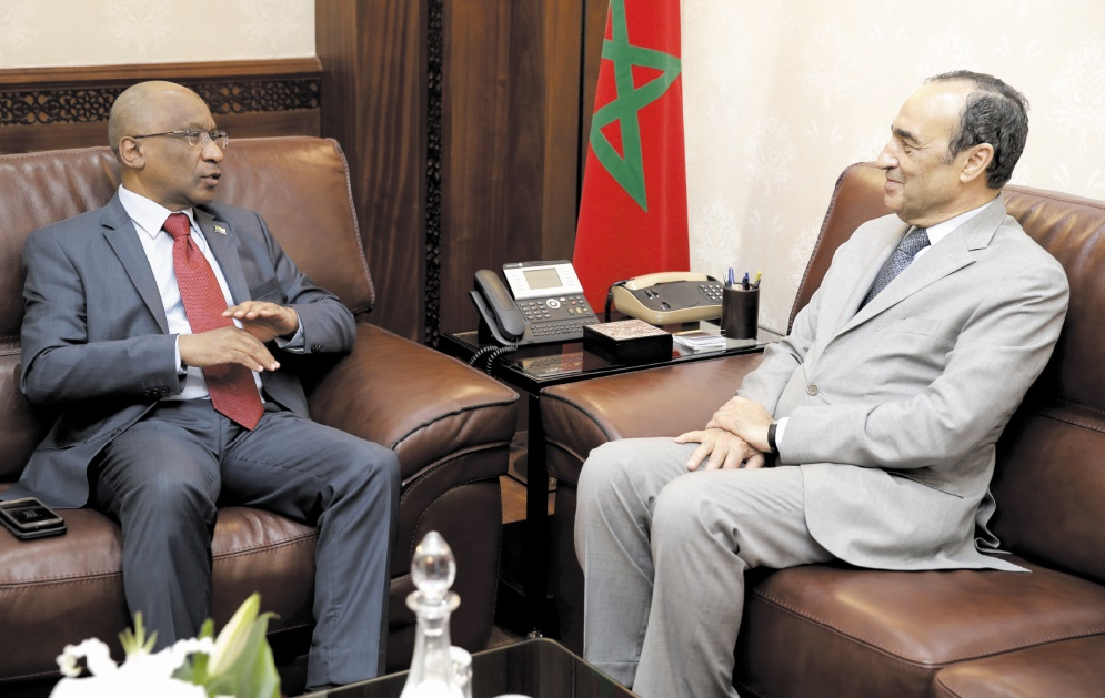 Création d'un groupe d'amitié parlementaire maroco-comorien