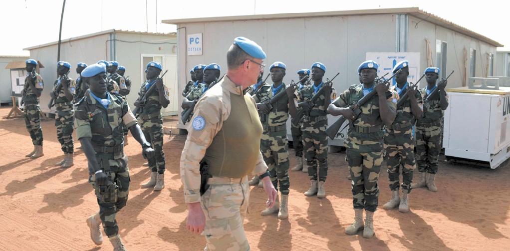 Une force d'intervention rapide dans le centre du Mali