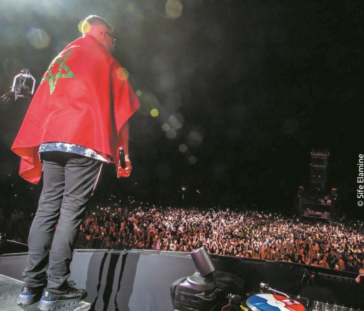 DJ Snake offre un show électrique à Rabat