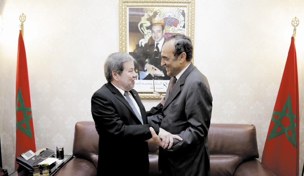 Une forte impulsion donnée aux relations parlementaires maroco-paraguayennes