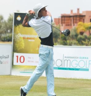 Bassine Touhami, Jabraoui Brahim et Rich Intissar s'illustrent aux Championnats du Maroc Pros et Elite de golf