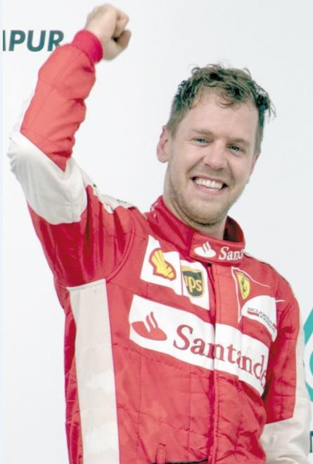 Quelles sont les personnalités de moins de 30 ans les plus riches au monde ?  Sebastian Vettel (29 ans)