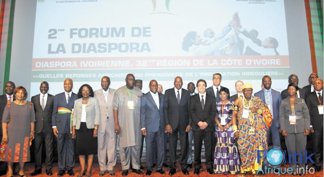 Participation de Abdelkrim Benatiq au Forum de la diaspora ivoirienne