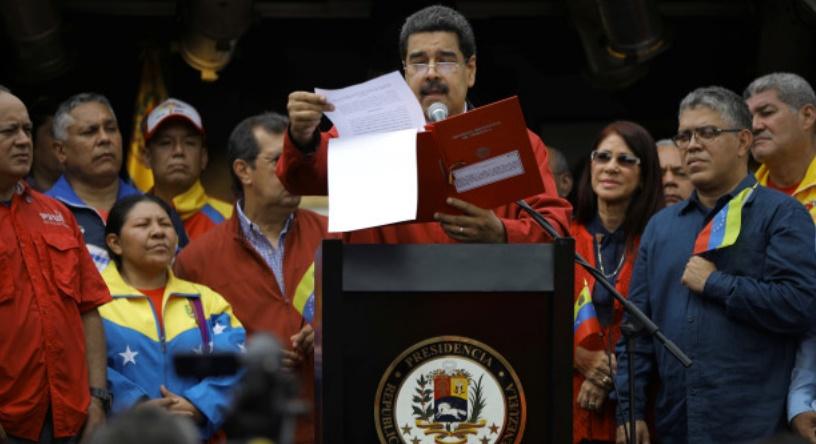 Le président vénézuélien lance le processus controversé d'assemblée constituante