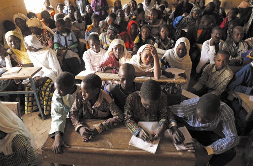 Une école saccagée et incendiée dans le centre du Mali