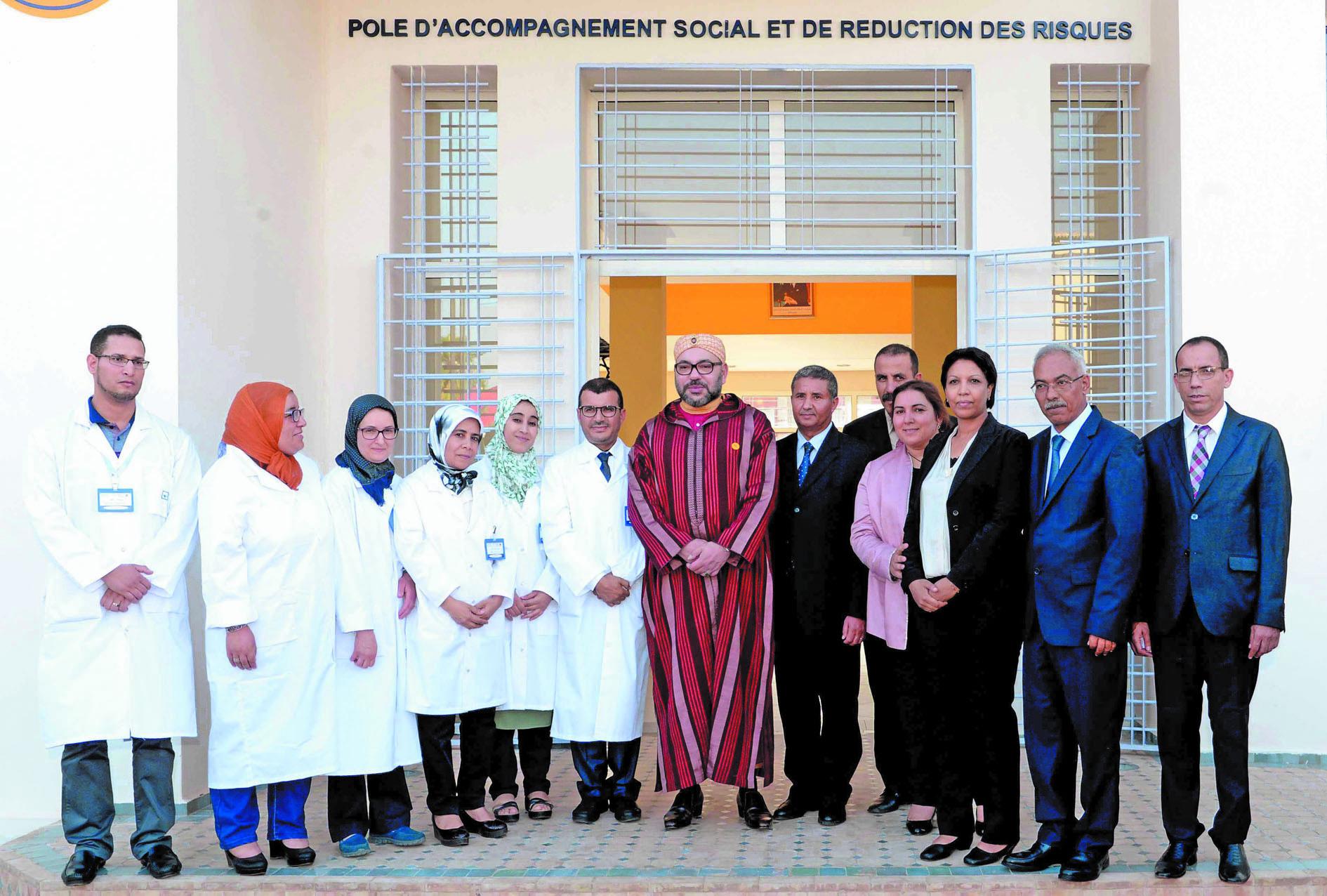S.M le Roi inaugure un Centre d'addictologie à Fès